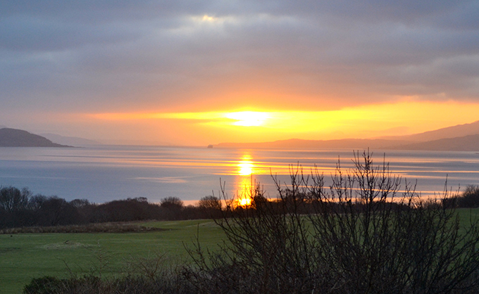 Sunrise at Ardnacross