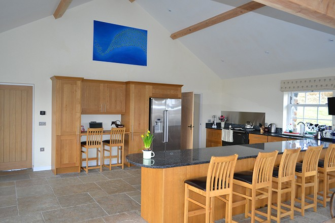 Ardnacross Mull stables self-catering kitchen